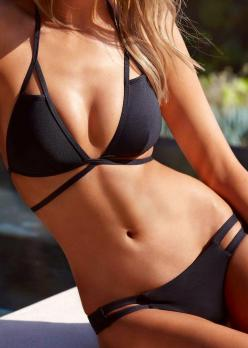 Fun suit! - Vitamine A bikini PROMOTIONS Real Techniques brushes makeup -$10 http://youtu.be/6T4khkxlZgo #bikini: Bathing Suits, Bikinis, Swimwear, Swimsuits, Black Bikini, Vitamin A