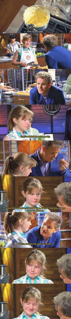 Gordon Ramsay Has A Heart After All: Sweet, Faith, Gordon Ramsey, Awesome, Funny, Gordon Ramsay, Things, People