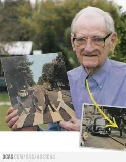 Greatest Photobomb EVER: Photos, The Beatles, Funny, Album Cover, Greatest Photobomb, Abbey Road, Things