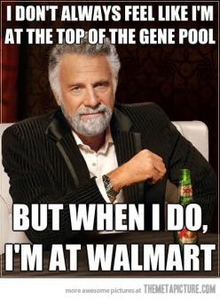 haha!  yep...and I'm sure someone else at Wal-mart is thinking the same thing about me when they're there.: Hate Quotes People Funny, Funny Walmart Pictures, Walmart Memes, Funny Walmart Meme Freaks, Funny Jokes, Cant Stop Laughing, Hate People Hu