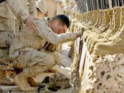 heartbreaking.  Considering the circumstances, how very difficult this must be for them.  My heart breaks for the weight these soldiers must carry.: Heroes, Military Thank, Freedom, Godbless, Veterans, American, Usa