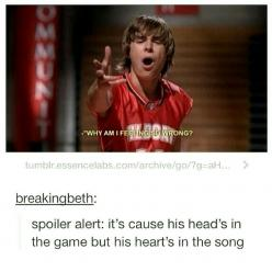 High School Musical humor: Spoiler Alert, High School Musical, Funny Stuff, Game, Disney Channel, High Schools