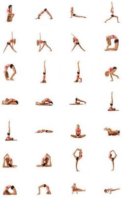 Hold each pose for 30 seconds.  You'll feel great when its all done! AND it should take about 14 minutes, and you can do it at home.: Yoga Exercise, Yoga Stretch, Fitness, Yoga Sequence, Yoga Poses, Pole Workout, Work Out, Yoga Workout