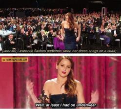 How Jennifer Lawrence deals with embarrassing ...: Jennifer Lawerence, Giggle, Lawrence Deals, Hunger Games, Jlaw, Jenniferlawrence, J Law, Jennifer Lawrence