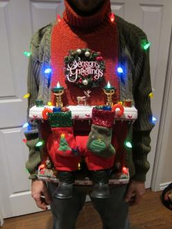 how to make an ugly christmas sweater - Google Search: Ugly Christmas Sweater Diy, Diy Ugly Sweaters, Ugly Christmas Sweaters Diy, Diy'S, Holiday Sweaters, Sweater Ideas, Funny Ugly Christmas Sweater, Sweater Party