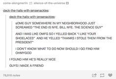 How to make friends: the tumblr way---THIS IS REALLY ADORABLE