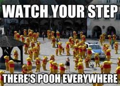 I'm laughing at this more than I should.. Haha: Pooh, Giggle, Funny Stuff, Funnies, Humor, Things, Disney, Watches