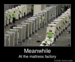 I dont know why but this would make me laugh so hard if I was involved in doing this! Dominos!: Bucket List, Mattress Domino, Funny Stuff, Humor, Factories, Human Domino