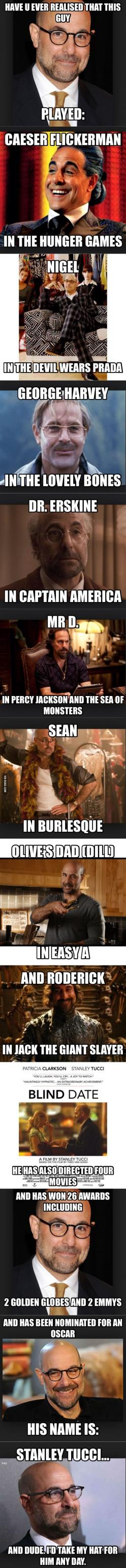 I love him.: Transformers Movie Funny, Favorite Actors, Awesome Actor, Guy, Man Pops, Stanley Tucci Funny, Stanley Tucci Movies, Actors Actresses