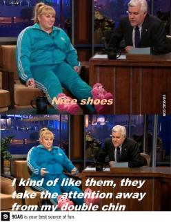 I love Rebel Wilson: Pitch Perfect, Nice Shoes, Rebel Wilson, Rebelwilson, Funny Stuff, Funnies, Fat Amy, Fatamy