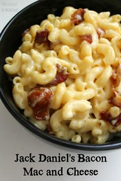 Jack Daniel's Bacon Mac & Cheese | White Lights on Wednesday: Cheese Recipe, Food, Jack O'Connell, Jack Daniel S, Bacon Mac, Mac And Cheese, Jackdaniels, Daniel S Bacon, Jack Daniels