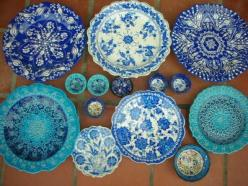 Just discovered a love for Turkish bowls....: Table Settings, Blue Plates, Blues Turquoise, Ceramic, Royal Blue, Kitchen, Chinese Stuff, Blue And White