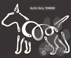 K Line Bull Terrier Dog Window Decal Tattoo http://doggystylegifts.com/products/k-line-bull-terrier-dog-window-decal-tattoo: Bull Terriers, Window Decals
