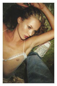 Kate Moss - Dazed Confused, November 1997. Photographed by Juergen Teller.
