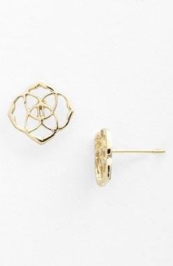 Kendra Scott 'Dira' Stud Earrings | Nordstrom. Love these! So delicate.: Kendra Scott Stud Earring, Kendrascott, L'Wren Scott, Scott Dira, Kendra Scott Studs Earrings, Stud Earrings, Kendra Scott Earrings Studs