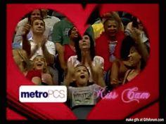 Kid Winning At Kiss Cam