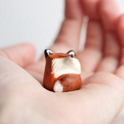 Le Red Fox FatFat Totem Made to Order by leanimale on Etsy: Gift, Art, Fox Totem, Ceramic, Animal Totems, Foxes, Red Fox
