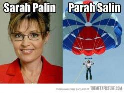 Literally, Laughed out loud.  Why is this so funny? Hahahahaha: Sarah Palin, Giggle, Parah Salin, Funny Stuff, Humor, Funnies, So Funny