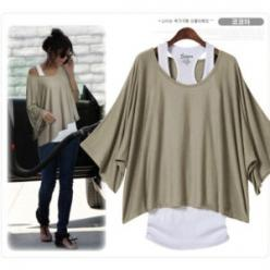 "Love! However.. I know in order to not look like a balloon and be able to wear this you have to be a size ""0"" :