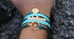 Love the Little Mermaid? We made 100 limited edition Mermaid bracelets at 60% OFF using the code: MERMAID. Sale ends July 15th, 2015.: Gift, Style, Outfit, Mermaid Bracelets