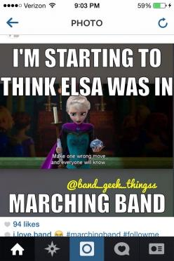 Marching band has been great so far. Our show is amazing and our first competition is next weeken: Truth, Band 3, Thought, Band Director, Marching Band Funny, Bandgeeks, Band Nerds, Band Geeks, Marching Bands