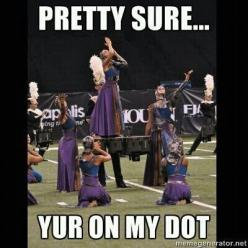 Marching band humor: Color Guard, Colorguard Band, Marching Band, Band Geek, Band Humor, Band Life, Dot, Marching Bands
