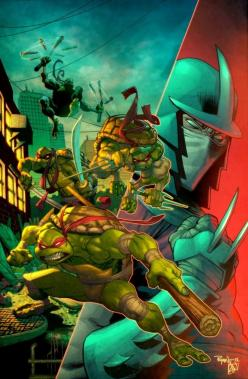 Ninja Turtles & Shredder: Mutant Ninja, Teenage Mutant, Cars Collection, Tmnt, Ryan Ottley, Comic Art, Ninja Turtles, Ryan Posted