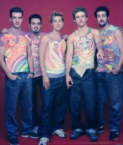NSYNC in Lisa Frank. You're welcome. I bet Lance adored that shirt ;): 90S Picture, Frank Shirts, Lisafrank, Wearing Lisa, Nsync Wearing, The 90S, Lisa Frank