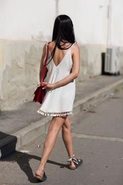 On the Street…..Goodbye Summer, Florence - The Sartorialist: Summer Dress, Fashion, Street Goodbye Summer, Spring Summer, Dresses, Outfit, Street Styles, The Sartorialist