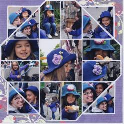Photo Collage created by Anica, Lea France designer using Stained Glass Stencil. #Photos #Collage #Designs #Stencils #PhotoCollage #Purple #Girls #fun: France Templates, Scrapbooking Leafrancecollage, France European Scrapbooking, Lea France