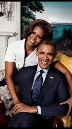 President Barack Obama and his first lady! Splayed hand around elbow, protecting and guiding at the same time: Lady Michelle, President Barack, U.S. Presidents, Michelle Obama, Barack Obama, President Obama