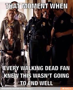 Pretty much! But i didn't even see beth dying. It totally took me by surprise and cried for almost 3 days straight... even at work I would just start sobbing over her! (Everyone thought I was crazy): Going, Byebeth, The Walking Dead, Knew, Thewalkingd