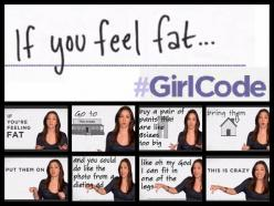 Quotes From Girl Code. Haha. Love this show.: Girls, Girlcode, Giggle, Girl Code Quotes, Funny Stuff, Funnies, Feel Fat
