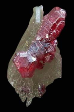 Red Cinnabar The distinction between a mineral and a gemstone is not always well-defined. In general we can say that an attractive mineral will find use as a gemstone only if it is sufficiently hard and durable to be set in jewelry: Things Physical, Cinna