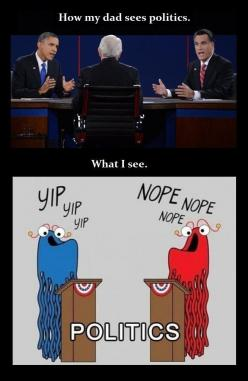 Sadly.....I have no idea what they're talking about and who's smarter.......So yeah this is good: Giggle, Politics View, Yip Yip, Funny, So True, Funnies, Smile, Board