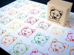 shiba inu stamp - need this for envelopes if we get a shiba inu!: Shiba Inu Rubber Stamp, Inu Stamps, Shiba Inu S, Shiba Stamp, Stamp Shiba, Crafts