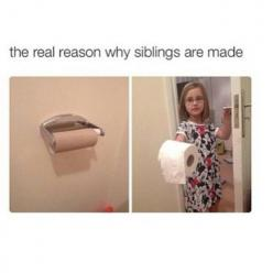 Siblings funny truth: Quotes, Funny Stuff, So True, Even, Humor, Funnies, Things, Siblings