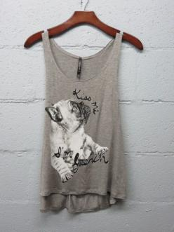 "Sighhhh.....""Kiss me I'm French"" Bulldog tank #bulldog #french #scoop-neck #t-5 #tank #tops #vintage-soft: Bulldogs Australia, Kiss Me, Bulldog French, French Bulldogs, Bulldog Tank, French Bulldoggie, Sighhhh Kiss, Happy Campers"