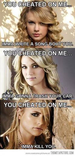 So true.: Taylor Swift, Country Girls, Quote, Country Music, Funny, Carrie Underwood, Carrieunderwood, Country Singers, Miranda Lambert