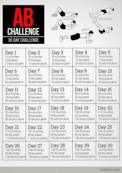 Someone do this challenge with me so we can keep each other motivated!!!! Lol pleaseeee: Challenges, Workout Challenge, Fitness, Work Outs, Ab Challenge, Exercise, 30 Day Abs, Abchallenge