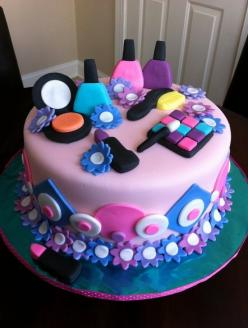 spa party ideas for girls birthday | Source: http://www.squidoo.com/girls-spa-birthday-cake-and-cupcakes: Party Cake, Girl, Cake Ideas, Makeup Cake, Spa Party, Party Ideas, Birthday Ideas, Birthday Cakes, Birthday Party