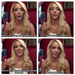 Sure she's hilarious and gorgeous, but THIS is why I love Jenna Marbles.: Giggle, Quotes, Jennamarbles, Jenna Marbles, You Ll Figure, Funny Stuff, Humor