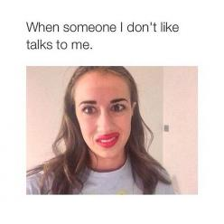 That is literally me, like that expression is just like 'I don't want to talk to you, so dismiss your self' lolz: Face, School, Yassssss, Mirandasings, Mirfanda, Miranda Sings Funny, Funny Miranda Sings, Yesss, Funny Youtubers