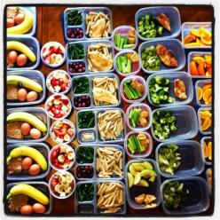 The key to having a healthy diet and actually sticking to it, is planning ahead. You need to have a plan of what foods you will eat, what workouts you will do, etc. By prepping your m...: Healthy Lunch, Healthy Meal, Prep Meal, Clean Eatting For Beginner,