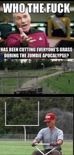 The Walking Dead Memes: Forests, Forrest Gump, Walking Dead, Funny Stuff, Funnies, Things, Funnystuff, Zombies