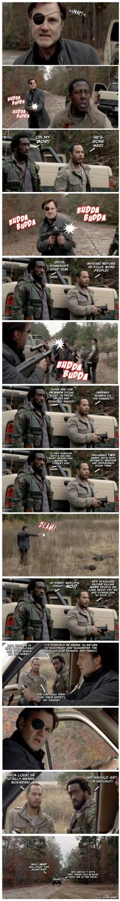 The Walking Dead season 3 episode 16 - Welcome to the Tombs gifs and memes #TickingTimeBomb - PandaWhale: Thewalkingdead, Things Norman, Stuff, The Walking Dead, Scary Things, Road Trips, So True