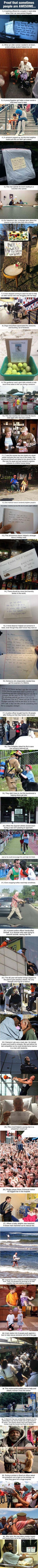There still are amazing people in this world... Faith in humanity restored.