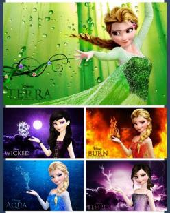 These should all seriously be a thing. They can all come together in one movie and battle to see who rules the world.: Frozen Elsa, Stuff, Frozen Disney, Movie, Board