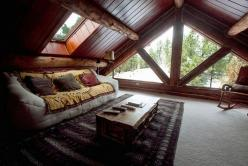 This attic is amazing - skylights and windows! Although I see a lot more seating, a writing area, and built-in surround sound.: Ideas, Interior, Dream House, Living Room, Loft, Attic Room, Design, Rooms