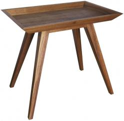 Tray Side table: Trays, Noir Tray, Side Tables, Tray Side, Furniture Sidetable, Living Room, Products, Dark Walnut